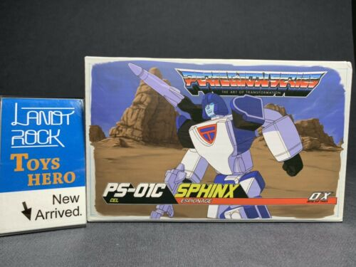 Toys Hero In Hand Transformers Ocular Max MMC OX PS-01C Sphinx G1 Animation