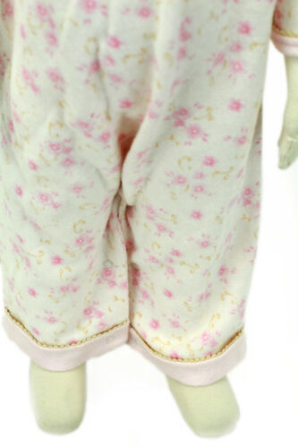 JACADI Girls Alarme Multi-Color Floral Long Sleeve Jumpsuit Sz 3 Months NWT $54