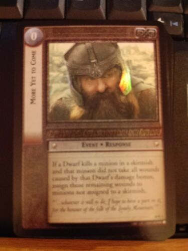 Doom 10R3 More Yet to Come FOIL LOTR TCG Mint Lord of the Rings CCG Mt