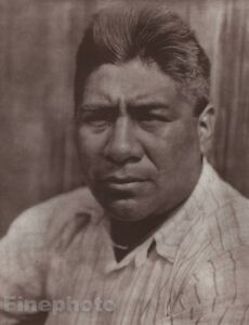 1900/72 Photo Gravure NATIVE AMERICAN INDIAN Yurok Male Art EDWARD CURTIS 11x14