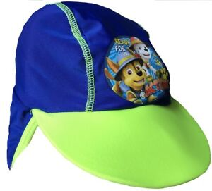 new arrival cc4bf 5d04f Image is loading Paw-Patrol-Boys-Sun-Hat-with-UPF-40-