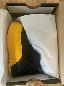 Nike Air Jordan 12 Retro Td University Gold 850000 070 New Toddler