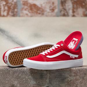 Old Skool Pro Skate Shoes Sneakers Red