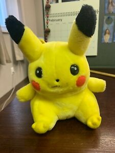 Pokemon-Vintage-Pikachu-8-Plush-1995-1996-1998-Game-Freak-Nintendo