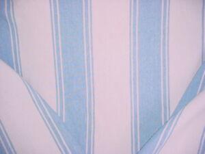 Details About Ralph Lauren Lcf65863f Danvers Stripe Sky White Linen Upholstery Fabric