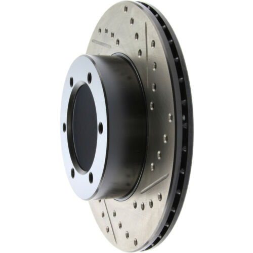 Disc Brake Rotor-Sport Drilled//Slotted Disc Front Left Stoptech 127.44044L