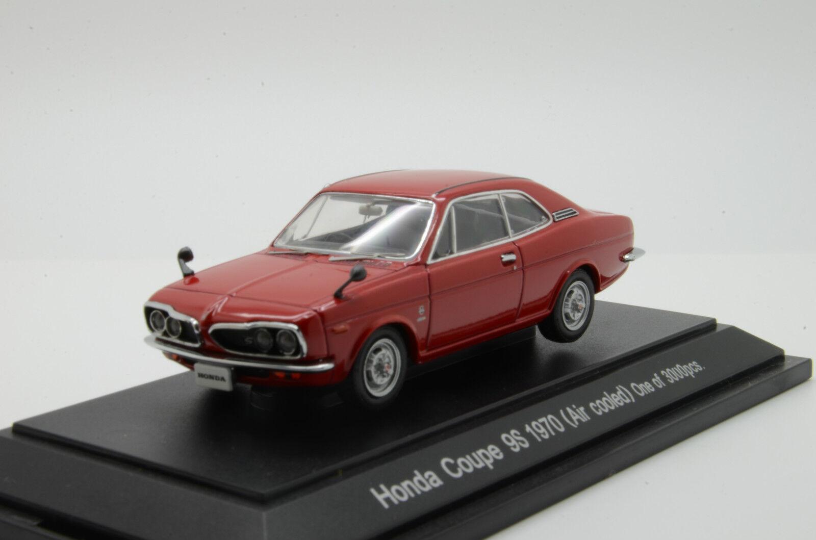 RARE     Honda Coupe 9S 1970 Red Ebbro 416 1 43