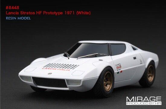Raro Hpi Lancia Stratos HF prossootipo 1971 biancao Integrale WRC 1 43 Modelo