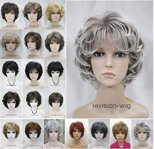 Short-Curly-Women-Ladies-Daily-Hair-wig-Hivision-19-Colour