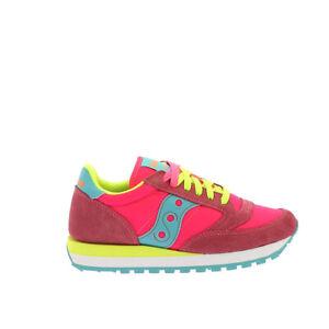 Saucony-Jazz-O-W-Sneaker-Donna-1044-293-Pink-Yellow