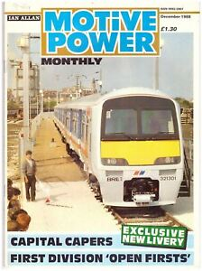 Motive Power Monthly December 1988 Fair M2 - DROITWICH, Worcestershire, United Kingdom - Motive Power Monthly December 1988 Fair M2 - DROITWICH, Worcestershire, United Kingdom
