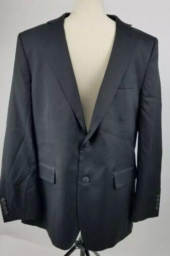 cheap HAGGAR Clothing Mens Black Blazer Suit Jacket Size 44R big discount