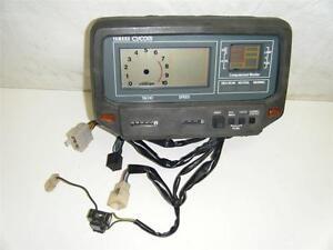 82-YAMAHA-Virago-XV920-XV-920-Cycom-Tableau-Vitesse-Compteur-Metre-de-LCD-Jauge