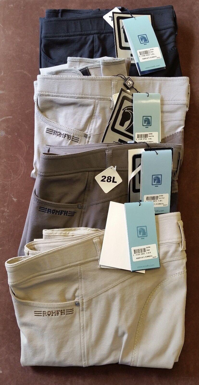 Romfh Pantalones  de montar de asiento completo-Internacional  conveniente
