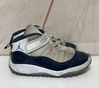 new concept b8245 087de Jordan Retro 11 Concords Size 9c Toddler Jordans White/Blue | eBay