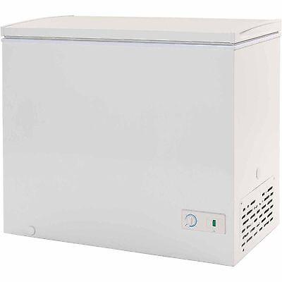 Haier 7.1 cu ft Chest Deep Freezer White Dorm Apartment Wide Small Size NEW