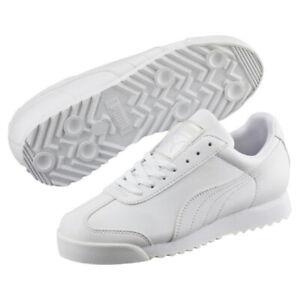 139e92b95689c8 Image is loading Puma-Roma-Basic-35357221-Classic-White-Casual-Fashion-
