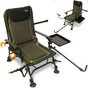Adjustable Legs Padded Carp Fishing Arm Chair