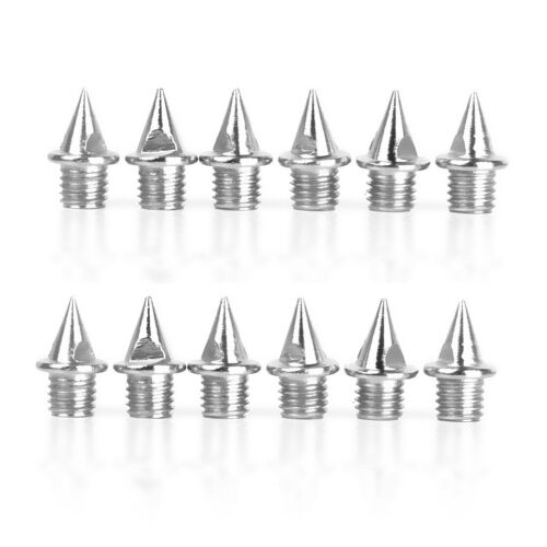 12 Packs Steel Track /& Field Cricket Athletes Shoes Spikes Replacement