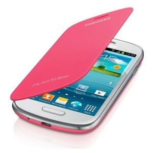 Flip-Cover-Etui-a-Rabat-Coque-House-pour-Samsung-Galaxy-S3-Mini-100-Original