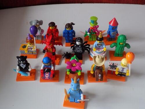 Lego Series 18-Minifigures-Full Set of 16 NO POLICEMAN