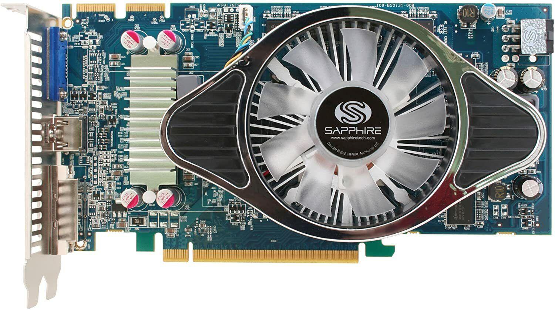 Sapphire ATI Radeon HD 4850 / 1GB / HDMI / DVI / VGA / Crossfire / Graphics Card