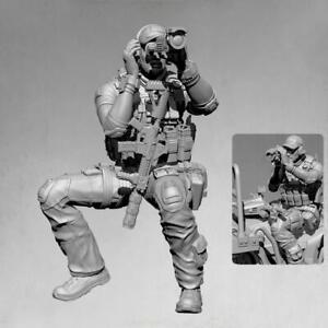 1-35-Resin-Figure-Model-Kit-Stalker-Biochemical-Soldier-Gas-Mask-Gun-Unpain-W9R7