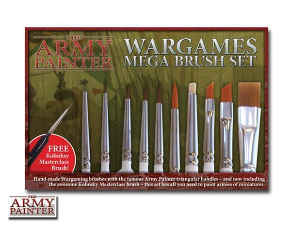 The Army Painter  Mega Satz von Bürsten   Warbuchstabieren Mega Brush Set
