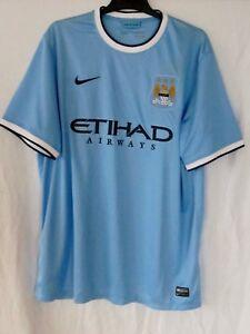 Neu Mit Etikett Manchester City Home Trikot Saison 1617 Gr Xxl