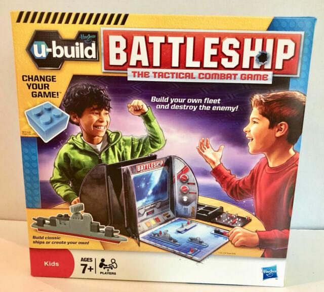 Hasbro U Build Battleship Battle Ship Tactical Combat Family Game 7 For Sale Online Ebay