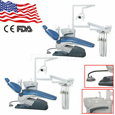 1 2dental Chair Unit Computer Control Hard Leather Chair Amp Stool Tj2688 A1 Fda