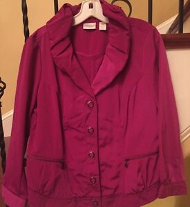 Clothing, Shoes & Accessories Zenergy By Chico's,1 Adaptable Casual Jacket