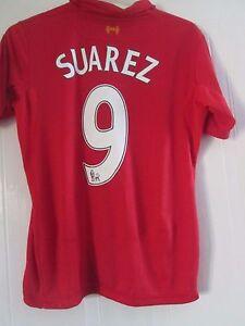 Liverpool-2012-2013-Home-Suarez-9-Football-Shirt-Medium-41310