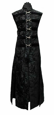 SHRINE HELLRAISER PIRATE VICTORIAN GOTHIC MEDIEVAL COAT STEAMPUNK GOTH JACKET
