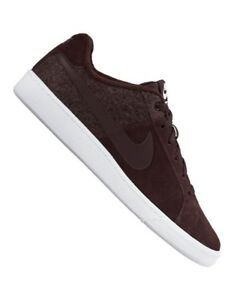 buy online 69889 54cc8 Image is loading NIKE-MENS-COURT-ROYALE-PLUS-MAHOGANY-SUEDE-TRAINERS-
