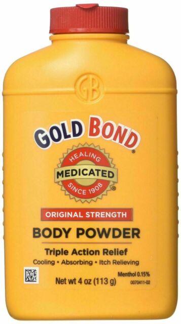 Gold Bond Body Powder Original Strength