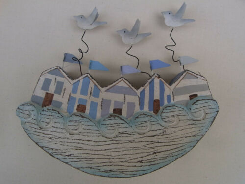 Rocking Beach Hut Decoration With Seagulls Gifts Accessories Nautical  Beach