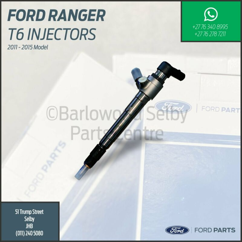 New Genuine Ford Ranger T6 2.2 and 3.2 Injector
