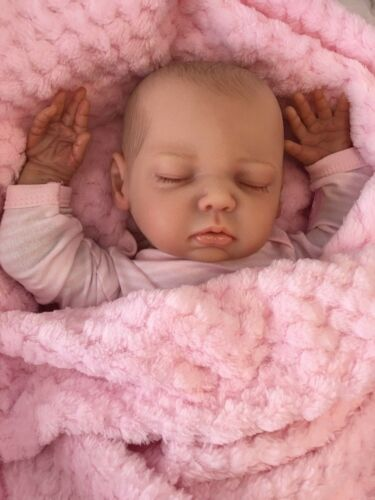 "CHERISH DOLLS NEW REBORN BABY LULU FAKE BABIES REALISTIC 18/"" REAL LIFELIKE CHILD"