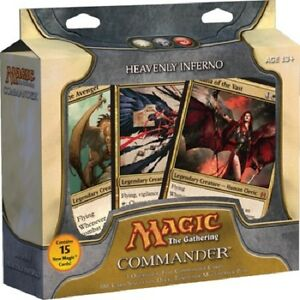 MTG Magic - HEAVENLY INFERNO - Commander Deck English - EDH - New and Sealed