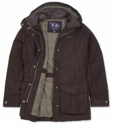 Musto Womens Ladies Whisper GTX Primaloft Jacket in Rich Brown Size 14 to clear