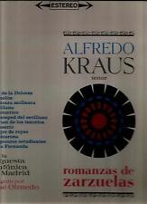 ALFREDO KRAUS * ROMANZAS DE SARZUELAS * ORQ. SINFONICA MADRID ~ JOSE OLMEDO DIR.