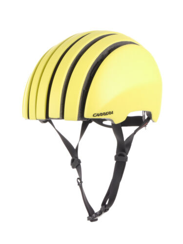 Carrera Casque Casque Casque de protection jaune Foldable Crit Visière Élastique