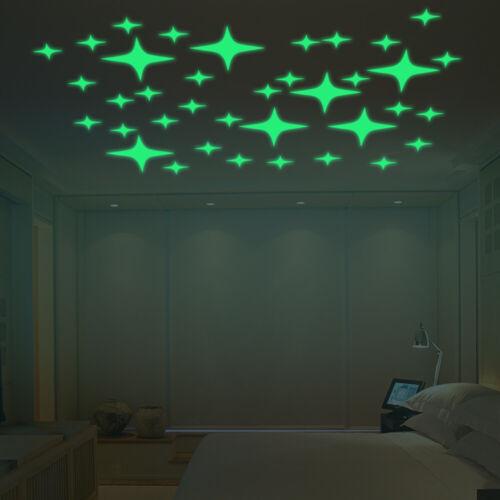 Walplus Autocollant Mural Lumineux Nuit étoilée Décalques Art Chambre À faire soi-même Décoration