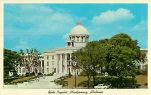 Postcard-State-Capitol-Montgomery-Alabama
