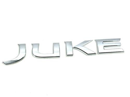 Genuine New NISSAN JUKE TAILGATE BADGE Logo Emblem 2010 AWD SL SV DIG Turbo R