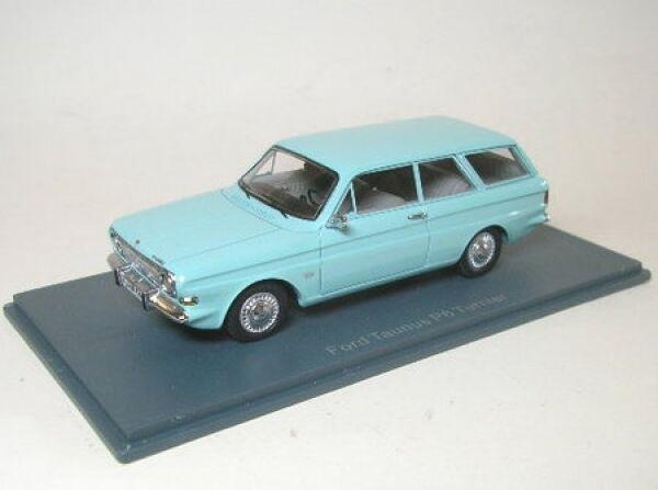 wholesape economico Ford P6 12m Familiare Familiare Familiare (Blu) 1966  promozioni di squadra