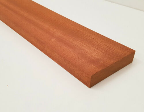 """Planed Sapele Wood Hardwood Timber Wooden Kiln Dried Untreated 94x20mm 4x1/"""""""
