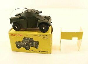 Dinky Toys F N° 814 Auto-mitrailleuse Légère Panhard Armoured Car Neuf En Boîte Une Large SéLection De Couleurs Et De Dessins