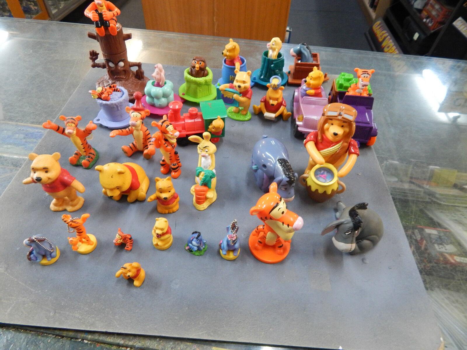 Winnie Winnie Winnie the Pooh various figurines - 30 in total dd0672